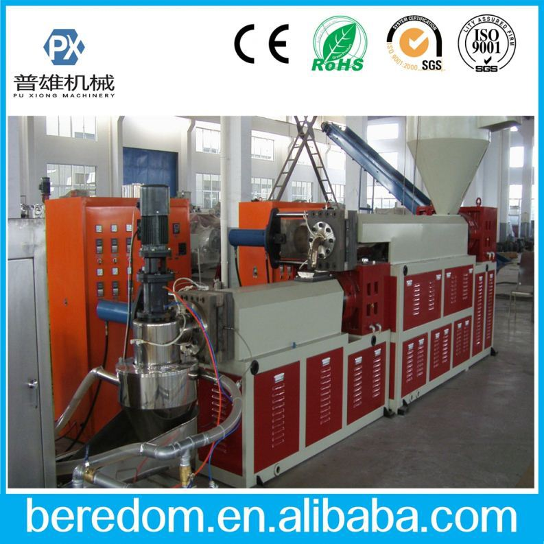 High Output Film Recycle Machine For Plastic Shopping Bags