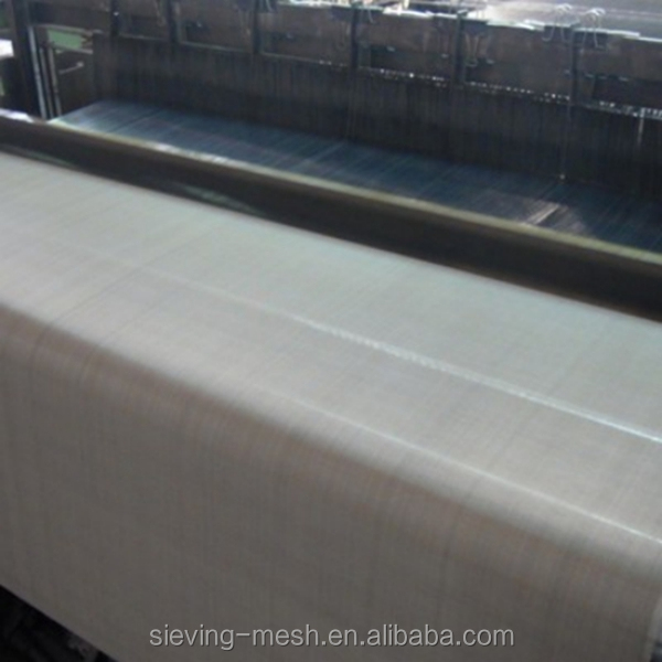 ultra thin stainless steel wire mesh / stainless steel hardware cloth / woven metal fabric