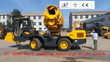 high cost performance Self Loading Concrete Mixer Truck used in Cement Mixing