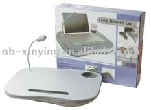 Portable MDF Laptop Desk with LED light for sell