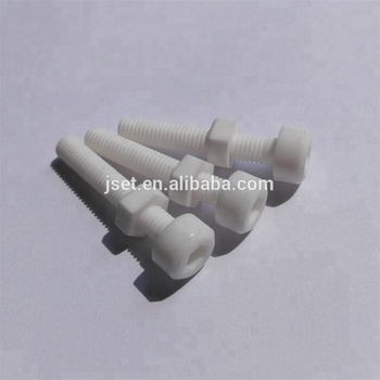 Al2O3 alumina ceramic screw and bolts