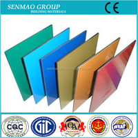 3mm 4mm color coated aluminum trailer wall panels