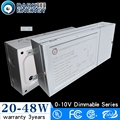 20W 48W Led Power Supply Big Box 0-10V Dimming Cc Led Driver