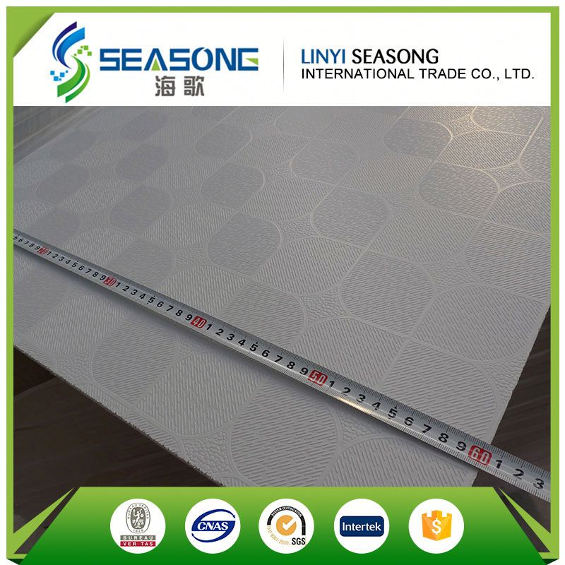PVC Ceiling Gypsum Board Design For Living Room, Gypsum Ceiling Tile With PVC