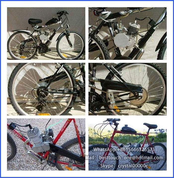 Two cycle natural gas 48cc 49cc 50cc 60cc 66cc 80cc two cylinder 60cc 2 stroke bicycle engine