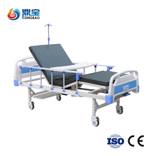 Top Sale Modern Hospital Cheap Nursing Bed Nursing Medical Bed (double Functions)