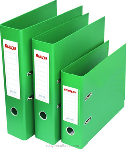 Colourful PVC/Paper Rigid Box File