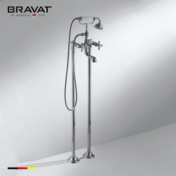 Charmant Foor Stand Freestanding Bathtub Faucet Freestanding Traditional Style  F651199CP
