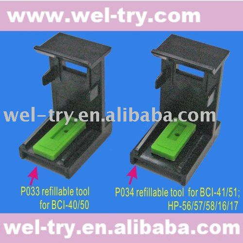 P033 P034 refillable tool (refill tool for CISS)