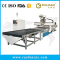 9kw ATC 1325 double vacuum table cnc word working router