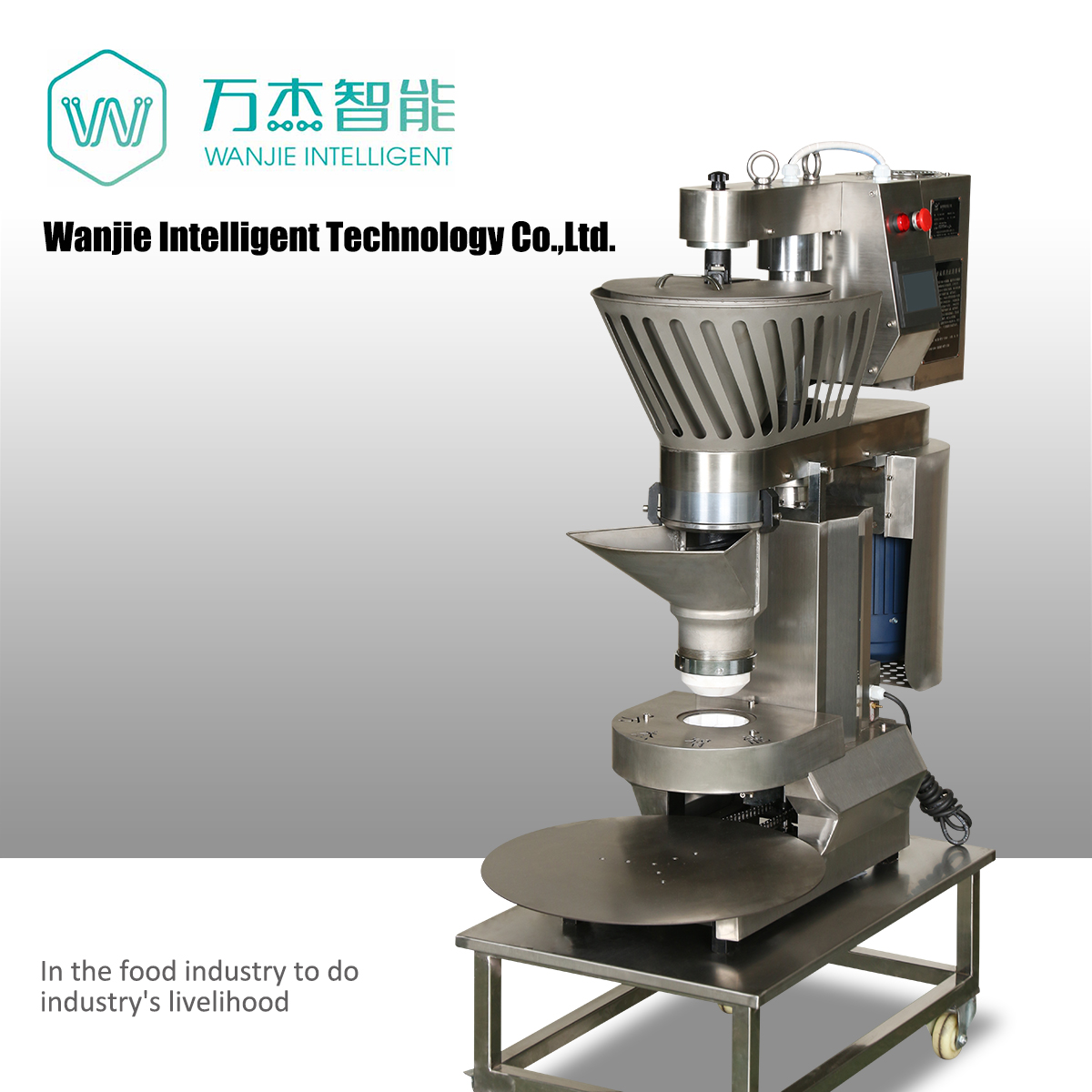Factory direct price automatic round steamed bun making machine