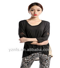 2013 new back neck designs lady blouse