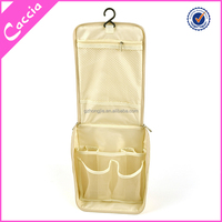 Travel Foldable Big Capacity Cosmetic Bag Makeup Wash Toiletry Hanging Bag Case Pouch Bathroom Hotel Organizer
