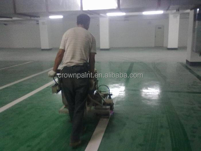 1MM heavy duty epoxy floor coating for car parking Foshan Guangzhou