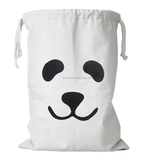 Heavy duty jumbo cute cotton sports laundry bag