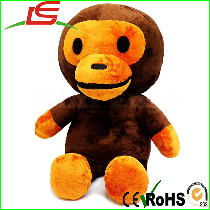wholesale big mouth monkey bathing ape plush animal toy
