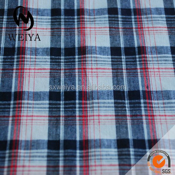 yarn dyed cotton fabric gingham