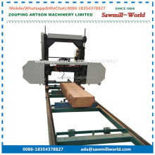 Horizontal Wood Electric Portable Band Sawmill For Hardwood
