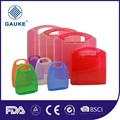 plastic case first aid kit empty wall bracket with private logo label stickers