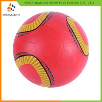 Newest selling different types cheap pvc soccer ball manufacturer sale