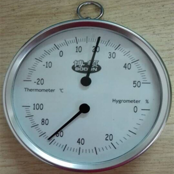 Mini Portable Key Ring Thermometer and Hygrometer