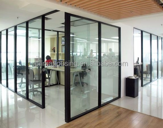 frameless glass office partition glass partition wall