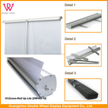 Wholesale advertising retractable roll up stand,High quality retractable roll up green screen