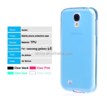 fancy transparent tpu cell phone cover case for samsung galaxy s4
