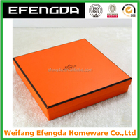 Custom Handmade Storage paper packaging cardboard box with logo