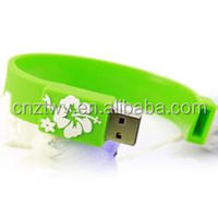 Bracelet/writsband USB flash drives 16gb, custom usb flash memory pen drive 32gb, bulk 8gb usb flash disk 2.0 USB
