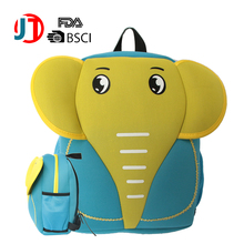 animal children school latop bags neoprene kids school bag material backpack