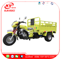 KAVAKI Half Closed Cabin Tricycle / Three wheeler/ Cargo Tricycle