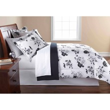 lepanxi brand mainstays black and white floral bed in a bag bedding comforter set