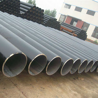 Good Quality Seamless Straight Black Steel Tube