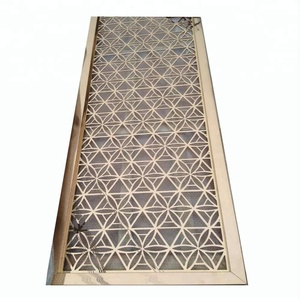 customized laser cut decorative dubai room divider screen