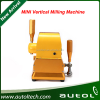 MINI Vertical milling machine Fixture using the guide column and double step structure