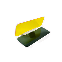 Clear view car sun visor covers front shield