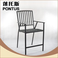 2016 new design cheap antique metal dining chairs