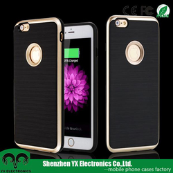 Korean Dual layered shockproof cell phone case for iphone 6s plus cover