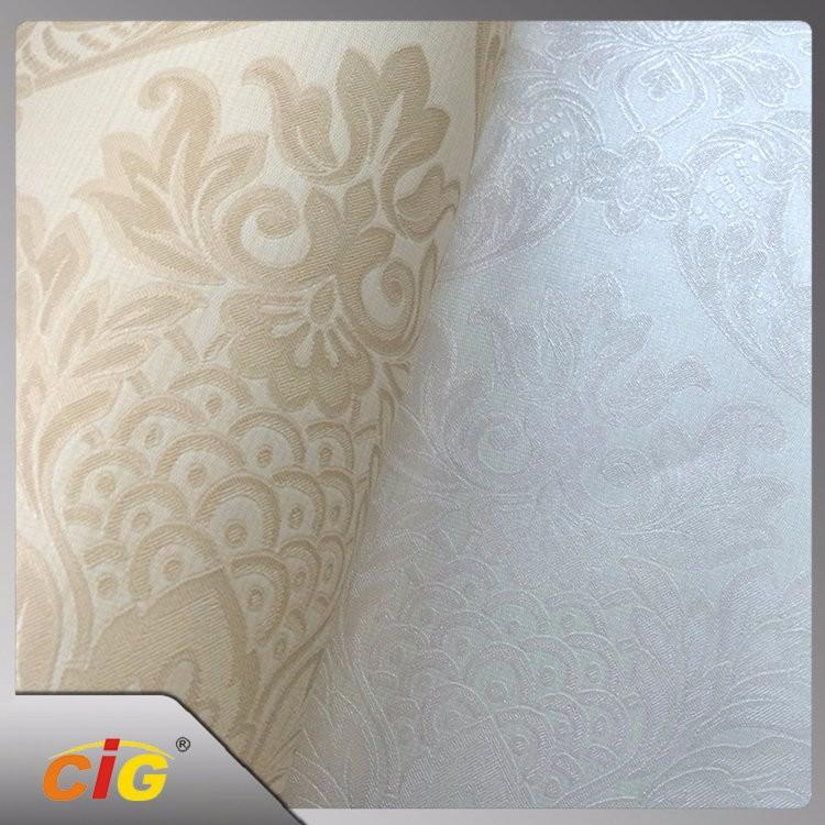 Home Decorative Waterproof PVC Glitter Vinyl Wallpaper, Wall Paper