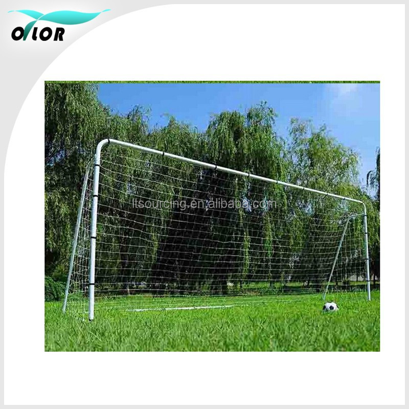Training and match 550*213*150cm metal soccer goals with net