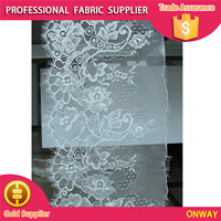 Flesh decorating roll warpping tulle lace fabric