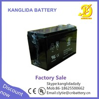 Kanglida high performance deep cycle rechargeable ups battery 12v 7.2ah