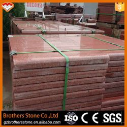 Natural stone construction material China red granite stone threshold dyed red granite slab China red granite stone threshold