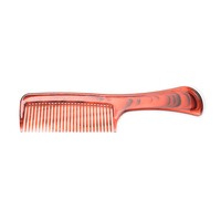 tortoise shell color transparent plastic hair comb