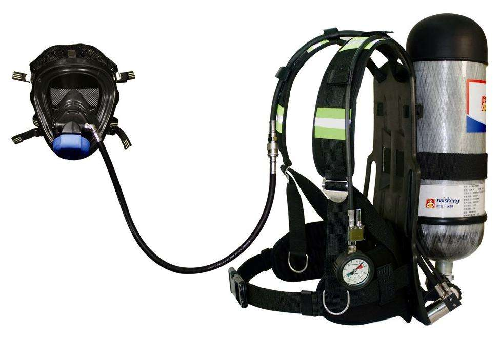 Competitive price cbd cartridge ccs/ec firefighter self contained air breathing apparatus with Silver Fish Battery