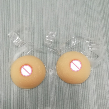 Round Shape Free Shipping Silicone Artificial Breasts Forms False Boobs for Cross Dressing or Shemale Crossdresser