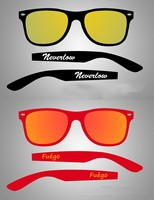 free sample wholesale mirror lens custom sun glasses, italy design ce sunglasses mens