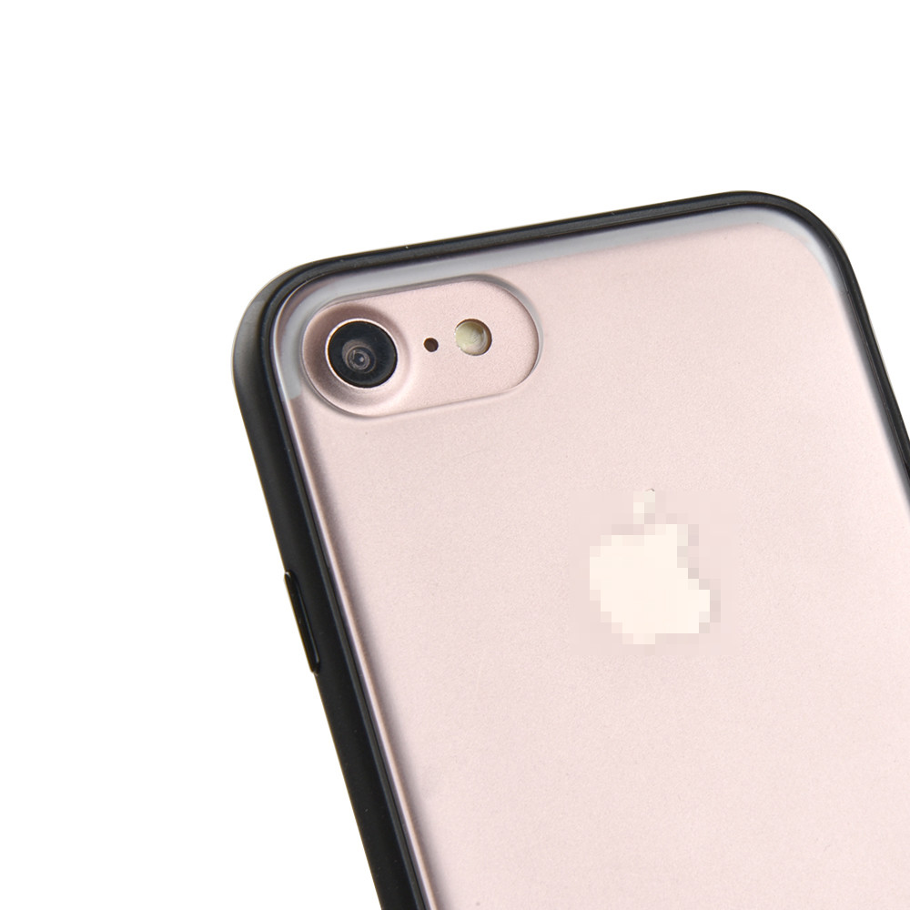 C&T Clear Hard PC Back Case TPU Bumper Design Shock Absorption Cover for iPhone 7