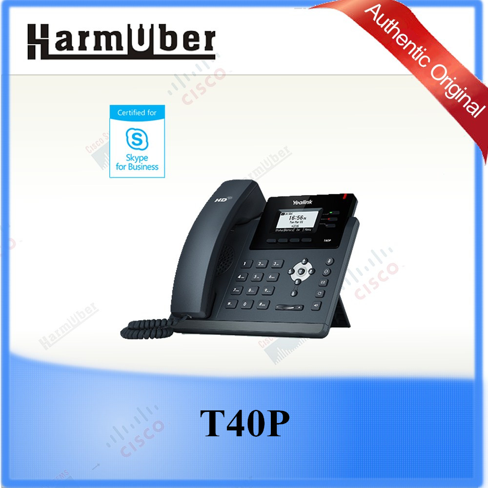 The High Quality Yealink T40P Skype for Business Phone Skype For Business IP Phone